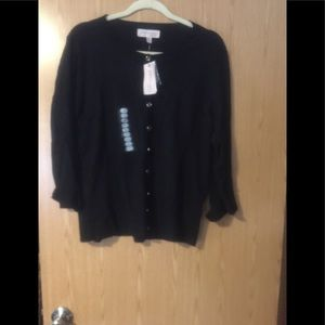 NWT 3/4 sleeved button cardigan